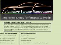 Repair Shop Capacity Workbook