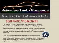 Stall Profit / Productivity Workbook
