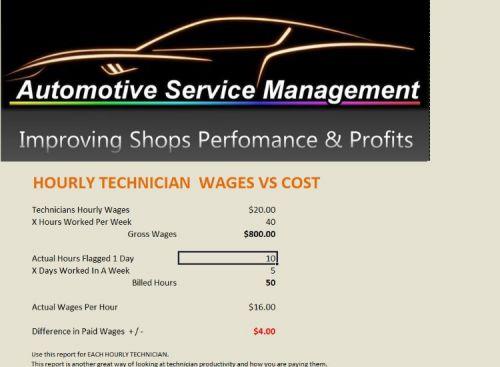 Technician Wages Workbook